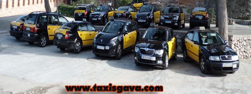 taxis en gavá